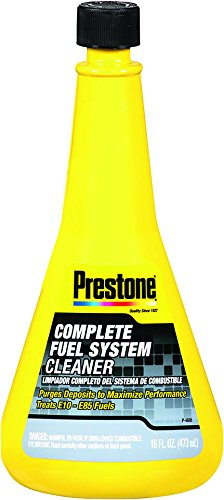 Prestone AS715 16 Ounce Complete Fuel System Cleaner-16 Oz
