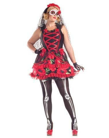 Day o (Spanish Senorita Costume Plus Size)