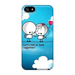 Faddish Phone Lets Fall In Love 2 Cases For Iphone 5/5s / Perfect Cases Covers