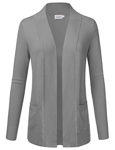 jj-perfection-womens-open-front-knit-long-sleeve-pockets-sweater-cardigan-hgrey2-m