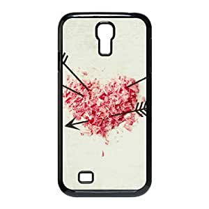 Samsung Galaxy S4 Cases Love Shot Protective Cute for Girls, Phone Case for Samsung Galaxy S4 for Men Protective Cute for Girls [Black]