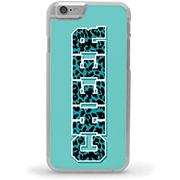 competitive price 375e8 50c14 Cheerleading iPhone 6/6S Case | Cheer Animal Print | Teal