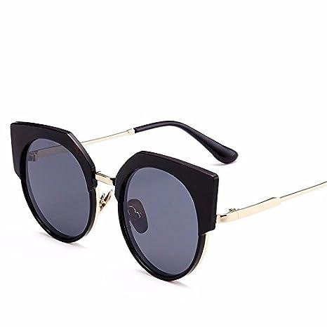 JISHUQICHEFUWU Gafas de Sol Grandes de la Mujer de la Caja ...