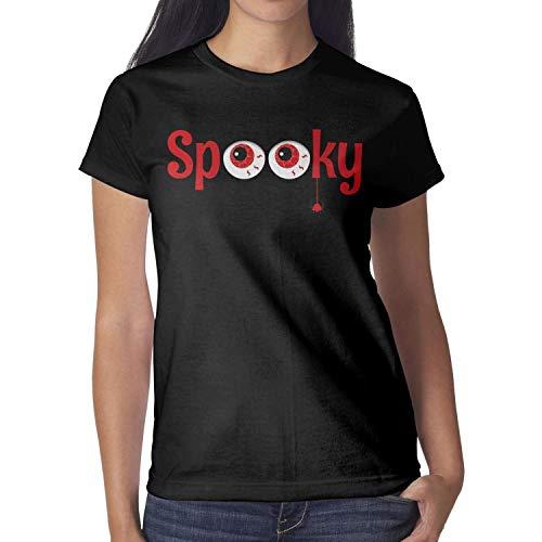 Melinda Spider Eye Halloween erytryt Women's T-Shirt Halloween Costumes for Women -