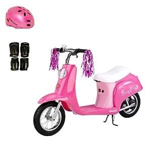 Amazon Com Razor Pocket Mod Girls Electric Scooter Sweet