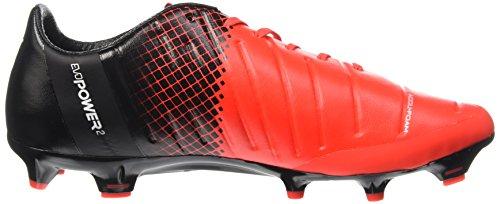 Puma evoPOWER 2.3FG Zapato de fútbol Red Blast/Bianco/Nero