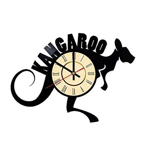 Red Kangaroo Animals Australia Handmade Vinyl Record Wall Clock Fun gift Vintage Unique Home (Day Of The Dead Costume Australia)