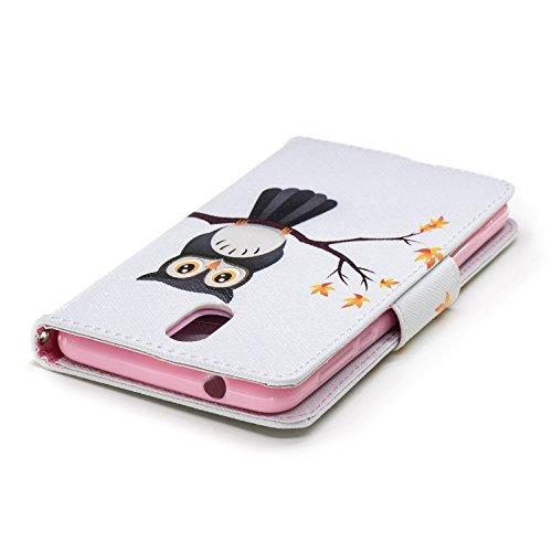 aigle Cuir BONROY 2018 3 Flip PU Fonction Cartes 1 Coque pour Support Cover Dragonne 2018 avec Printemps Wallet Housse Case Étui Arbre Portefeuille 3 Nokia 1 Porte Nokia tYYwqrp