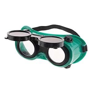 Sharplace Gafas De Soldar Soldador Ajustable Anti Salpicaduras Protectoras Gafas Plegables