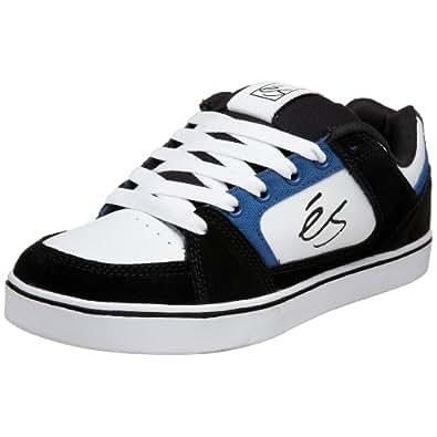 eS Men's Slant Technical Skate Sneaker,Black/Blue/White,11.5 M US