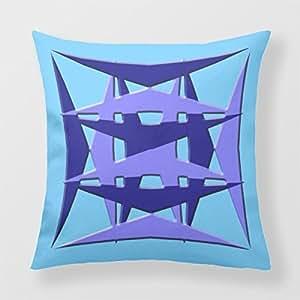 Refiring Square Cushion Cover 7Cupsoftea Sofa Pillows 18 X 18