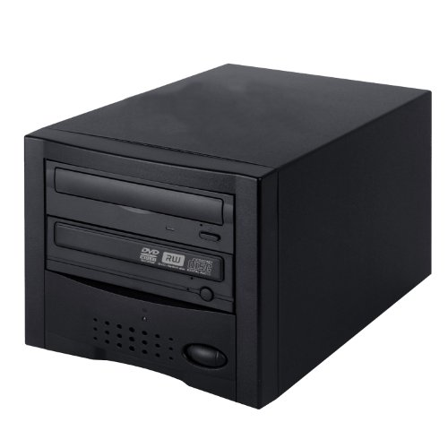 Acumen Disc Easy to USE CD DVD Disc Copier STANDALONE Duplicator System Tower with 24x DVD-Burner Writer Drive