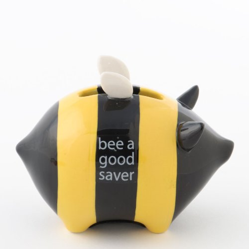 Bee a Good Saver Bank with Your Honey Money this beekeeper gift teaches saving