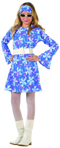 70s Fever - Blue Dress Child X-Large (XL) Costume by RG Costumes by RG Costumes