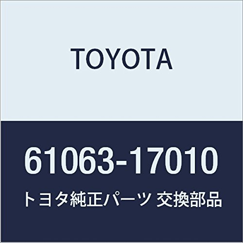 Toyota 61063-17010 Luggage Door Opening Trough Sub Assembly