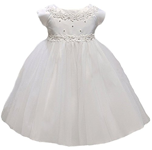 Kid Collection Baby-Girls Princess Tulle Flower Girl Dress