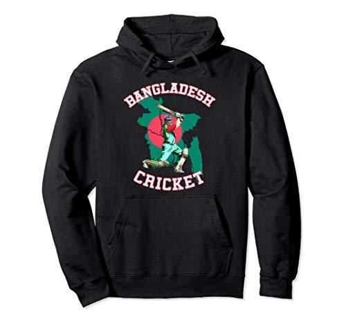 Bangladeshi Batsman Shirt - Bangladesh Tiger Cricket Cup Fan Pullover Hoodie