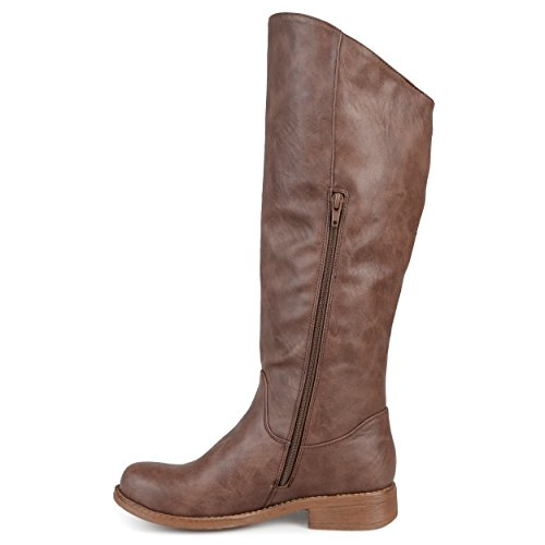 Calf Riding amp; Brown Boot Trina Regular Wide Wide Co Women's Brinley RWFYa84w
