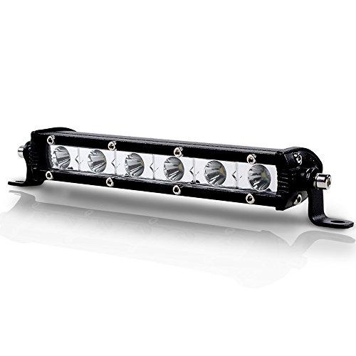 2pcs 12V 18 LED 6000k License Number Plate Lights Lamp for Toyota - 8