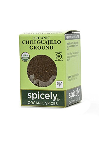 Spicely Organic Chili Guajillo Ground - (Guajillo Chili)