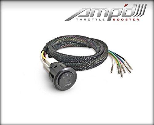 Superchips 28867 AMPd Throttle Booster w/Power Switch 6 Settings AMPd Throttle Booster