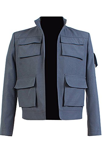 [CosplaySky Star Wars Han Solo Costume Empire Strikes Back Jacket X-Large] (Han Solo Adult Costumes)