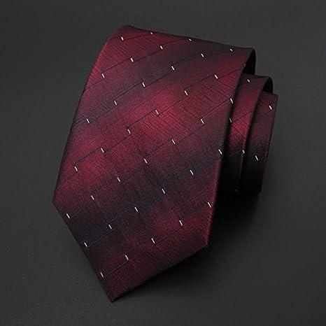 LINGDAI - Corbata de Seda para Negocios, Amplia versión, Sistema ...