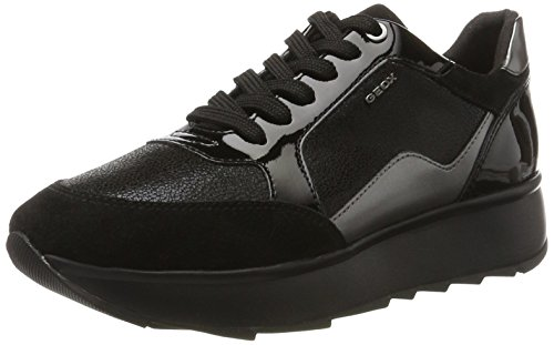 Negro Para D Gendry B Zapatillas Mujer Geox Black cqAOFUFW