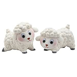 Appletree Design Lamb Salt and Pepper Set, 2-1/2-Inch