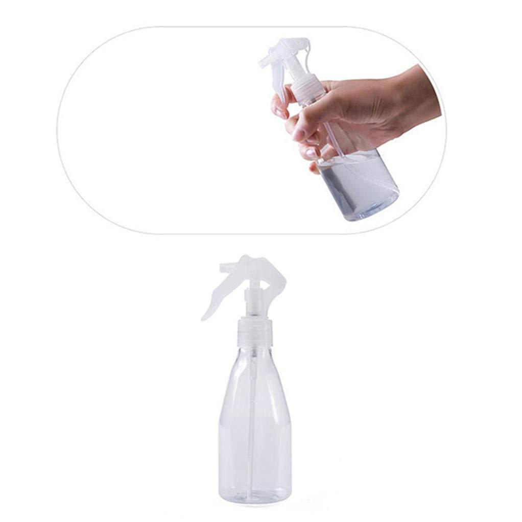 SEVENHOPE Tragbare Kunststoff Transparent Bilden Feuchtigkeitszerst/äuber Topf Feinnebelspr/üher Flaschen Haar Styling Werkzeuge