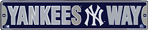 Signs 4 Fun SS20119 NY Yankee Way Street Sign (Street Way Sign)