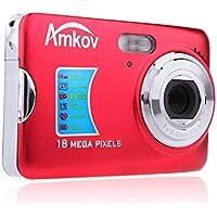 Andoer CDFE HD Digital Camera 18MP 2.7 TFT 8x Zoom Smile Capture Anti-shake Video Camcorder