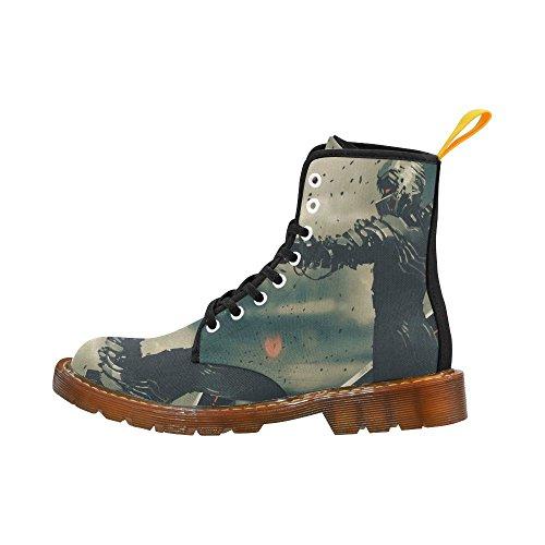 Weapon Interestprint Up Gun Shoes Fashion Lace Print Men Boots For Aiming vBqrvx