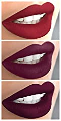 WATERPROOF TRANSFER RESISTANT kiss proof, no smudge, no fade, not sticky, long wear lipgloss that lasts for hours. A Beautiful collection of lightweight matte liquid lipsticks that dry to a bold, vivid, velvety flat finish.   ...