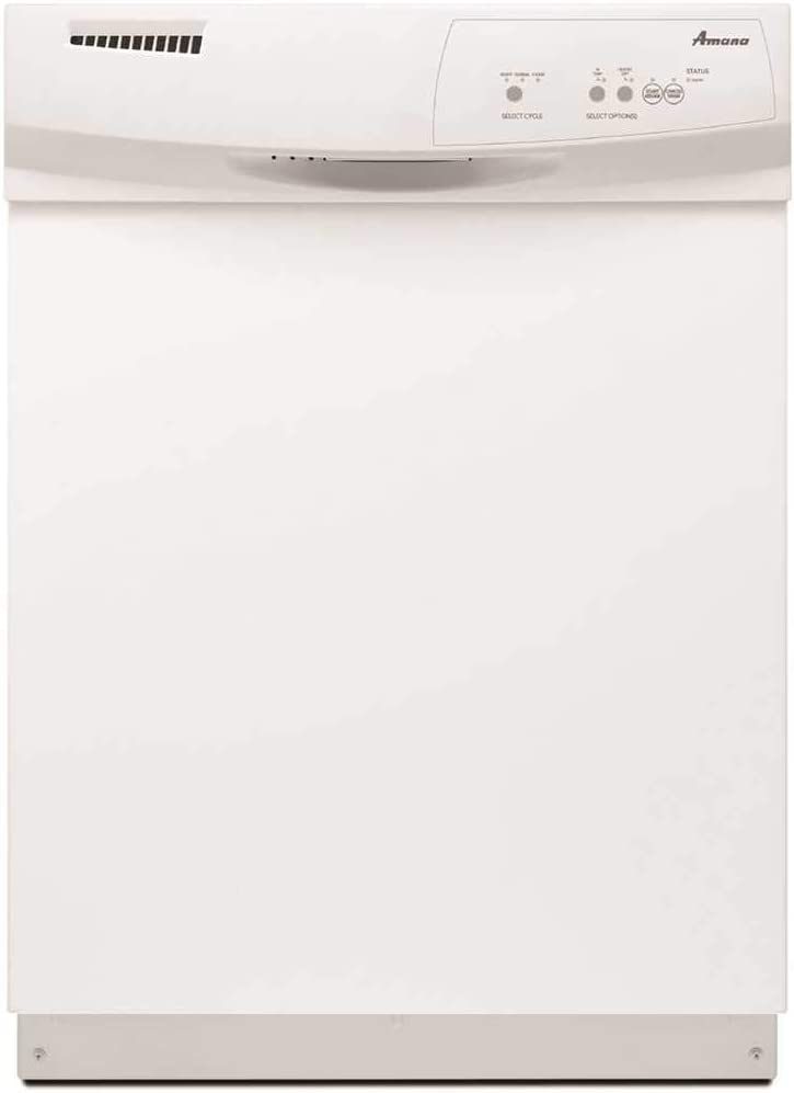 Amana ADB1400AG 24 Inch Wide 12 Place Setting Energy Star Rated Built-In Dishwas, White