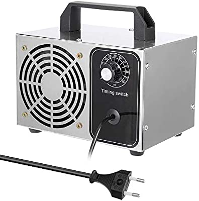 Gecheer Generador de Ozono Portátil 24 g/h 220 V Filtro de Aire ...