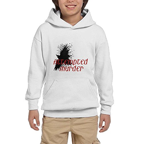 Discount Attempted Murder Youth Pullover Hoodies Fashion Pockets Sweatshirts