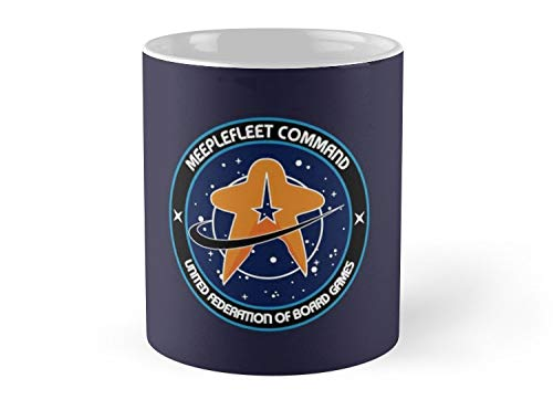 (Fleet United Federation Of Board Games 11oz Mug - Made from Ceramic - Great gift for family and)