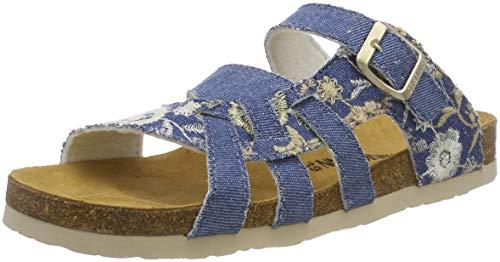 701142 Dr brinkmann Jeans 5 Dames Pantoufle Bleu qqUrft