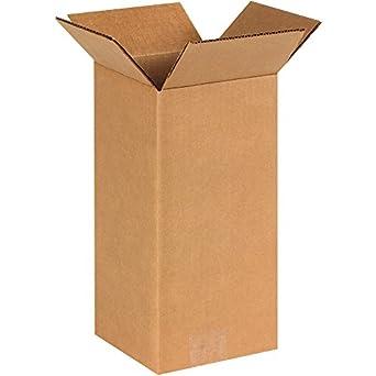 Amazon.com: Cajas Fast bf6612 de altura cajas de cartón ...