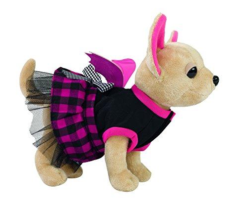 Simba 105894839 - Chi Chi Love Plüschhund 20cm mit Tasche in Form eines Sarges