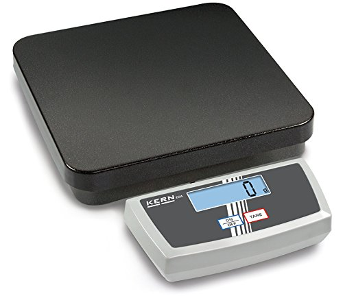 High-resolution parcel scale [Kern EOA 100K-2] for fast and easy weighing in the office, production, dispatch, ..., Weighing Range [Max]: 150 kg, Readout [d]: 50 g
