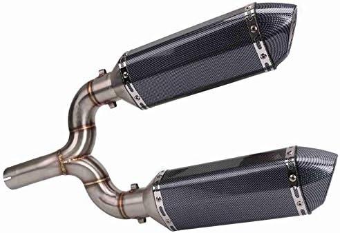 600に対応オートバイの修正エキゾーストパイプステンレス鋼 オートバイアクセサリー排気管