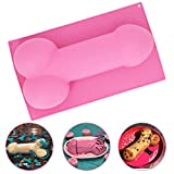 Large Size Bachelorette Party Cake Mold - MoldFun Funny Novelty Shape Silicone Cake Soap Pan for Homemade DIY, Bride-to-be Party Supplies Gifts