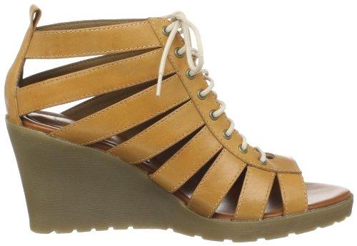 mujer de MONA vestir Sandal para Sandalias Martens 13889020 Strappy de Dr Beige cuero RSZH6PqnZ