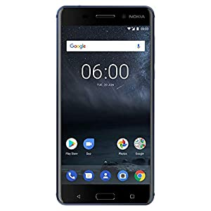 Nokia 6 – 32 GB – Dual Sim Unlocked Smartphone (AT&T/T-Mobile/Metropcs/Cricket/Mint) – Update To Android 9.0 Pie – 5.5″ FHD Screen – Blue – U.S. Warranty