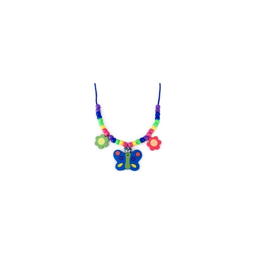 Butterfly Necklace Craft Kit (activity For 12) FUN EXPRESS 48/7068