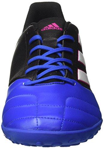adidas Ace 17.4 Tf, Botas de Fútbol para Hombre Negro (Core Black/footwear White/blue)