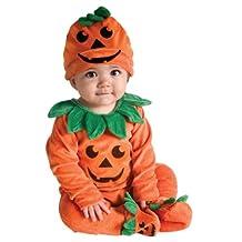 Rubies Baby Costume My First Halloween Lil Pumpkin Jumper Costume, Orange, 6-12 Months
