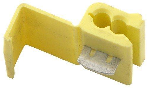 Yellow Solderless Wire Quick Splice Connector - 10-12 Gauge - 50 Pack ()